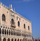 Doge's Palace Details Statues Venice Italy Royalty Free Stock Image
