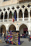 Doge's Palace entrance,Venice Royalty Free Stock Photos
