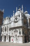 The Doge's Palace from inside Stock Image
