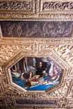Doge`s Palace Palazzo Ducale Paint on the Ceiling Royalty Free Stock Images