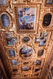 Doge`s Palace Palazzo Ducale Paint on the Ceiling Royalty Free Stock Image