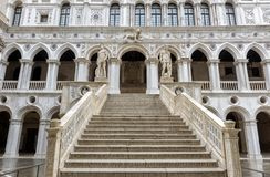 Doge`s Palace in Venice, Italy. Doge`s Palace, or Palazzo Ducale, in Venice, Italy.  Dode`s Palace is one of the main tourist destination in Venice Royalty Free Stock Photography