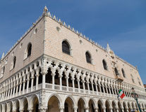 Doge's Palace (Palazzo Ducale) in Venice Royalty Free Stock Photo