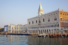 Doge's palace on Piazza di San Marco Royalty Free Stock Photography