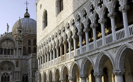 Doge's Palace and San Marco Stock Photography