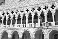 Doge's Palace on San Marco square. Venice, Italy Royalty Free Stock Image
