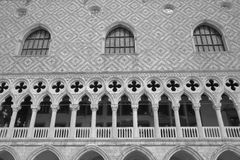 Doge's Palace on San Marco square. Venice, Italy Royalty Free Stock Images