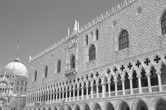 Doge's Palace on San Marco square. Venice, Italy Royalty Free Stock Photos