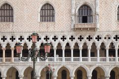 Doge's Palace on San Marco square. Venice, Italy Stock Photography