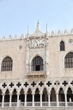 Doge's Palace on San Marco square. Venice, Italy Stock Photos