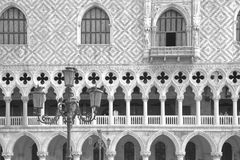 Doge's Palace on San Marco square. Venice, Italy Royalty Free Stock Photography