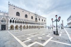 Venice, Italy. Doge`s Palace on San Marco square, Venice, Italy Stock Images
