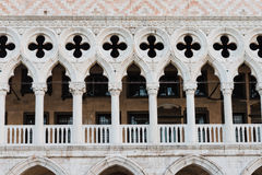 Doge's palace in St Mark's Square Royalty Free Stock Photos