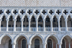 Doge`s palace in St Mark`s Square in Venice, Italy Stock Photos