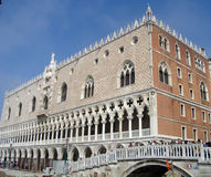 Doge's palace in Venice Royalty Free Stock Photo