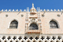 Doges Palace in Venice, Italy stock image