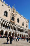Doges Palace in Venice, Italy royalty free stock photo