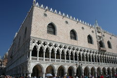 Doge's Palace, Venice, Italy Royalty Free Stock Photos