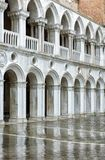 Doge`s Palace in Venice, Italy. Doge`s Palace, or Palazzo Ducale, in Venice, Italy.  Dode`s Palace is one of the main tourist destination in Venice Stock Photo