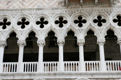 Doge's Palace in Venice. Italy. Venice. Ducal Palace, a fragment Stock Images