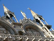 Doge`s Palace in Venice Stock Photos