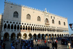 Doge`s Palace in Venice, Italy Stock Image