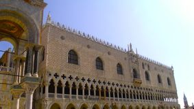 Doge`s Palace in Venice Royalty Free Stock Images