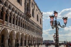 The Doge's Palace Venice, Veneto, Itlay Royalty Free Stock Photo
