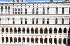 Doge ` s Palast palazzo Ducale stockfotos