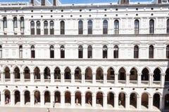 Doge ` s Palast palazzo Ducale Stockfotos