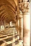 Doge ` s Palast in Venedig, Italien stockbilder