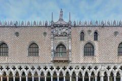 Doge` s Paleis - Venetië, Italië stock foto's