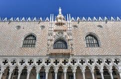Doge` s Paleis - Venetië, Italië stock afbeelding