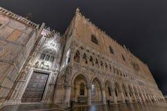 Doge` s Paleis - Venetië, Italië stock afbeeldingen