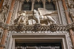 Doge` s Paleis - Venetië, Italië royalty-vrije stock afbeeldingen