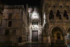 Doge` s Paleis - Venetië, Italië stock fotografie