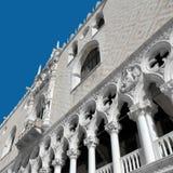 Doge` s Paleis in Venetië, Italië-Woonplaats van de doge royalty-vrije stock foto's