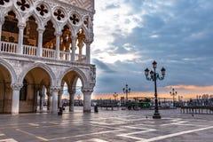 Doge` s Paleis in Venetië, Italië royalty-vrije stock fotografie