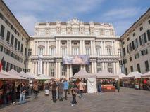 Dogepaleis in Genua royalty-vrije stock fotografie