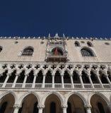 Dogepaleis in Venetië in Venetië stock afbeeldingen