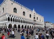 Dogepaleis in Venetië, Italië stock fotografie
