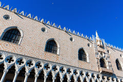 doges νύχτα καλυμμένη παλάτι Βενετία της Ιταλίας Στοκ φωτογραφία με δικαίωμα ελεύθερης χρήσης