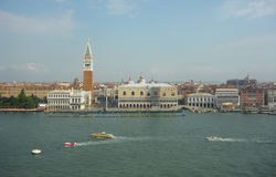 Doges Palace on the Grand Canal Stock Photography