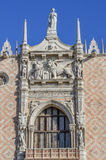 Doges Palace in San Marco square Stock Photography