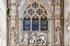 Doges Palace in San Marco square Royalty Free Stock Photo