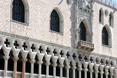 Doges Palace - Venetian Architecture Stock Photo