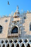 The Doges Palace in Venice. Beautiful Doges Palace in Venice, in Italy royalty free stock image