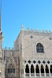 The Doges Palace in Venice. Beautiful Doges Palace in Venice, in Italy royalty free stock photo
