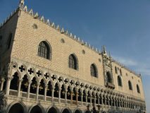Doges Palace, Venice. A landscape study of the Doges Palace, Venice Stock Image