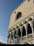 Doges Palace, Venice. A portrait and detail study of the Doges Palace, Venice Stock Image